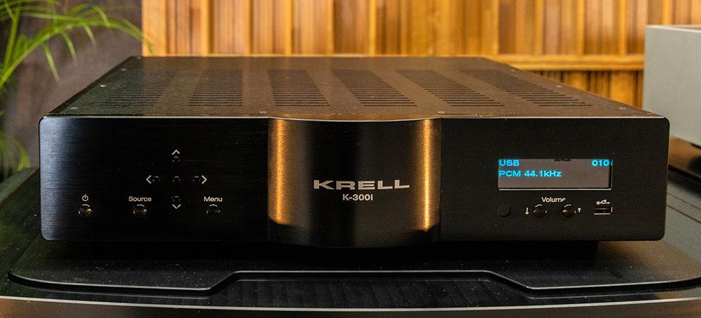 画像: 今年登場したクレルのデジタル入力対応プリメインアンプ「K-300i」