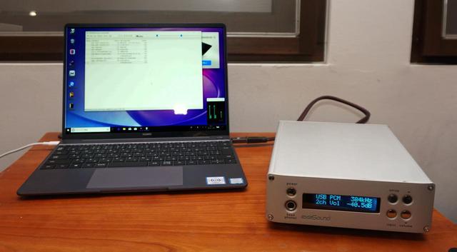 画像: 「MateBook 13」とエクササウンドのUSB DAC「E32」でハイレゾ再生を試す