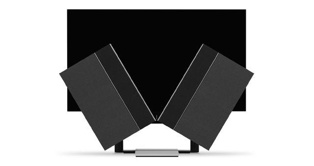 画像: 「Beovision Harmony 65」のファブリックカバーモデル