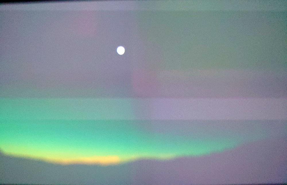 画像: イエローストーン国立公園での日食。8Kは広角でパースペクティブが撮影できる