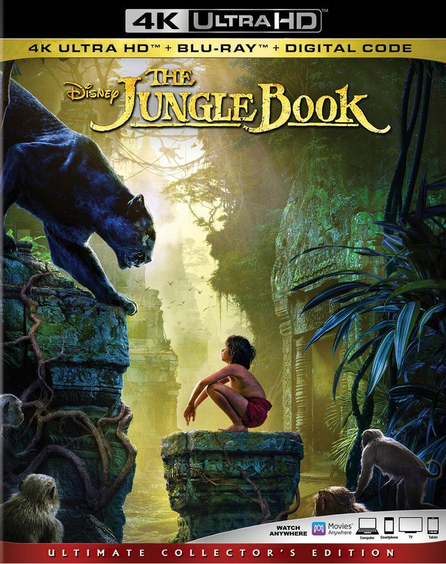 画像: ディズニー名作アニメの実写映画化『ジャングル・ブック』【海外盤Blu-ray発売情報】