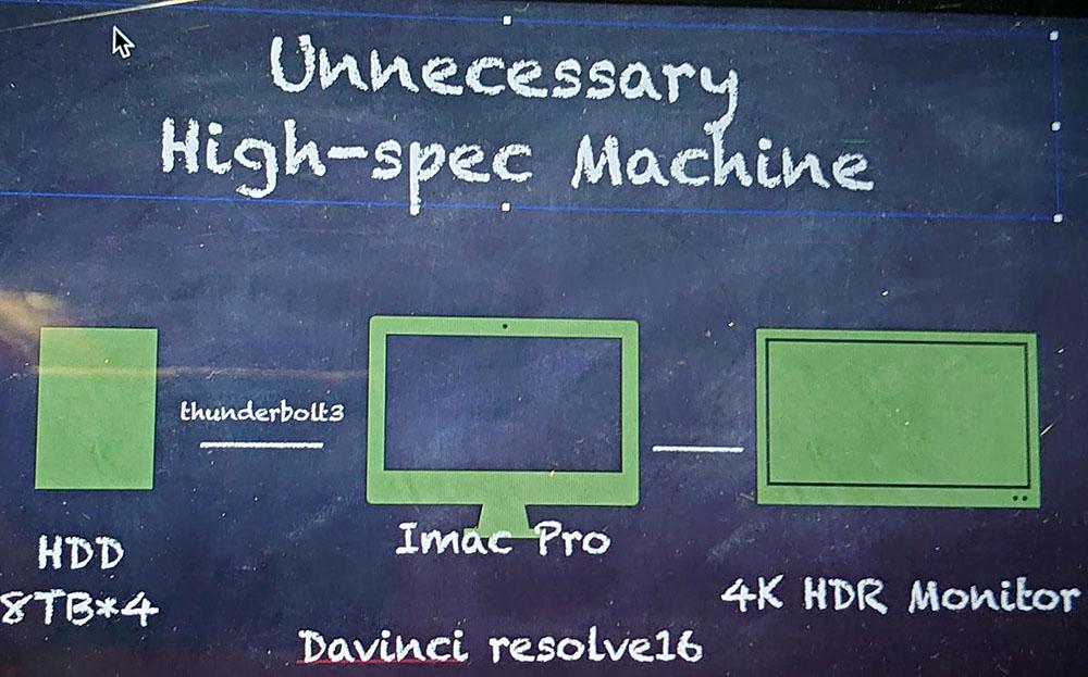 画像: 現行の4K編集システムに少し手を加えるだけで、8Kが編集できる
