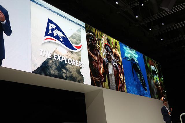 画像: The Explorersのアプリはサムスンエレクトロニクスの8Kテレビに入った