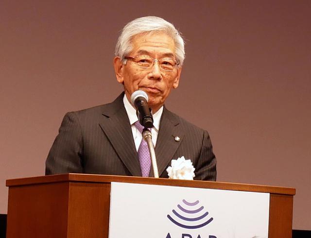 画像: 一般社団法人 放送サービス高度化推進協会 理事長 福田俊男氏