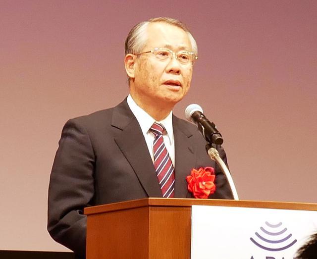 画像: 日本放送協会 会長 上田良一氏