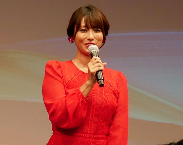 画像: 4K8K推進キャラクターを務める女優の深田恭子。後任はいないという