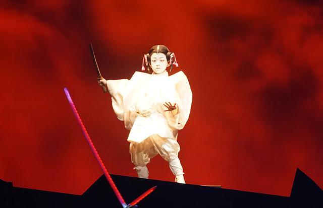 画像7: 『スター・ウォーズ/スカイウォーカーの夜明け』公開を記念して、『スター・ウォーズ歌舞伎』が一日限りの上演。SF映画と歌舞伎の見事な融合を果たしていた