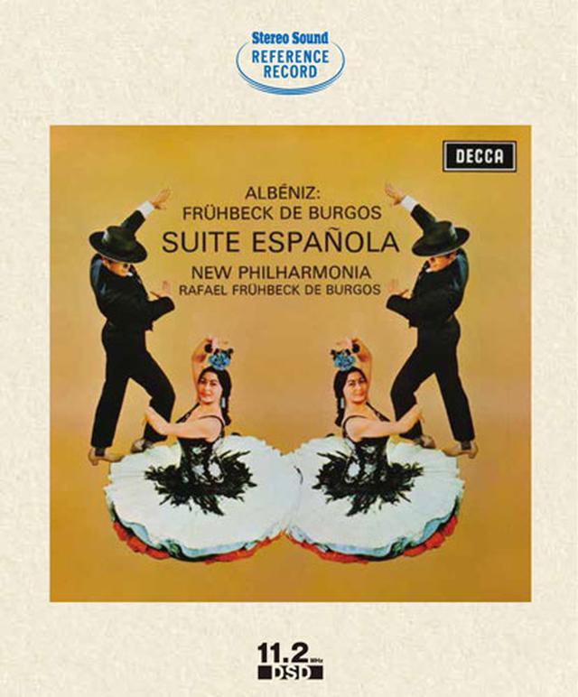 画像: アルベニス:スペイン組曲(ブルゴス編)(DSD11.2MHzデータ収録BD-ROM) SSHRB-009