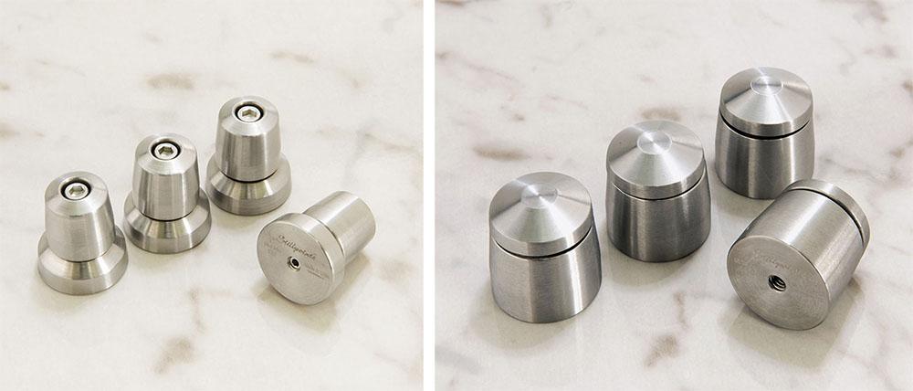 画像: 左が「ULTRA MINI」で、右は「ULTRA SS」。どちらもシルバー仕上げ