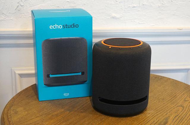 画像: Echo Studioシリーズは、Amazon Music HDのハイレゾだけでなく、ドルビーアトモスや360 Reality Audioの再生も可能