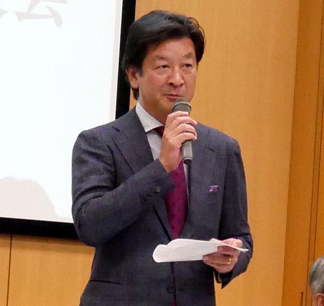 画像: 講談社 代表取締役社長 野間省伸氏