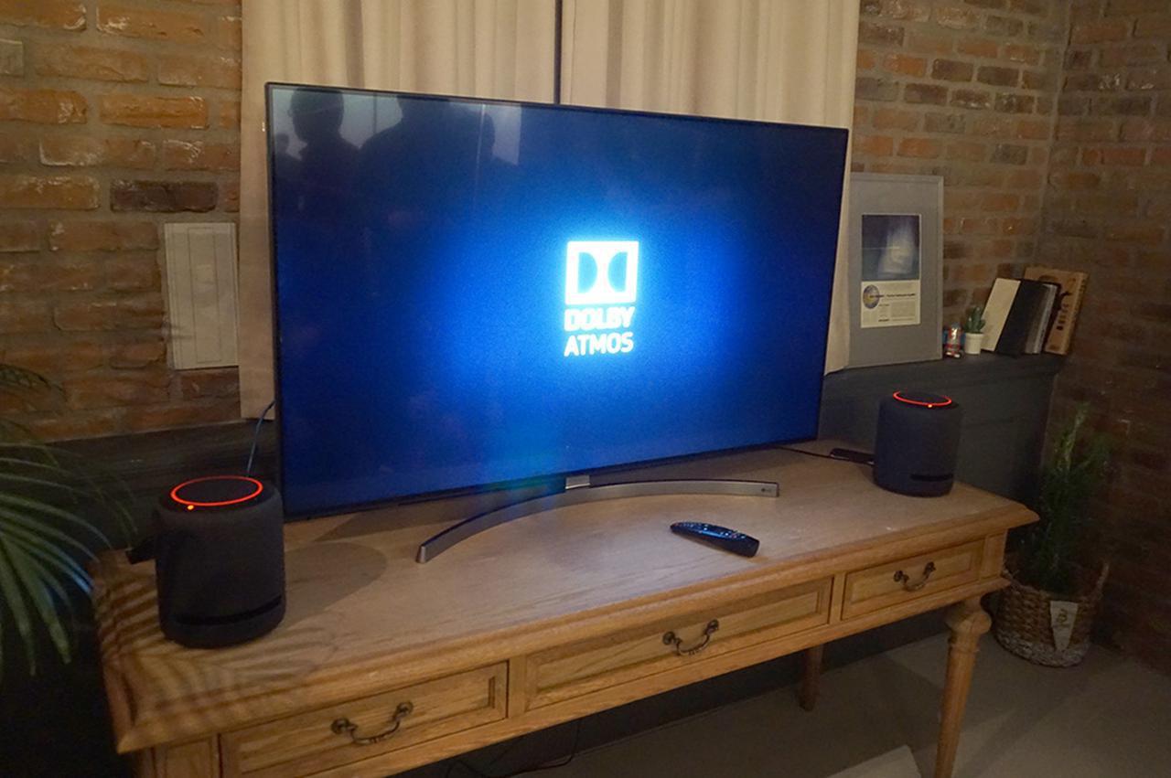 画像: 試聴会場にはEcho Studioや従来のEchoシリーズが展示され、パフォーマンスを体験できるようになっていた