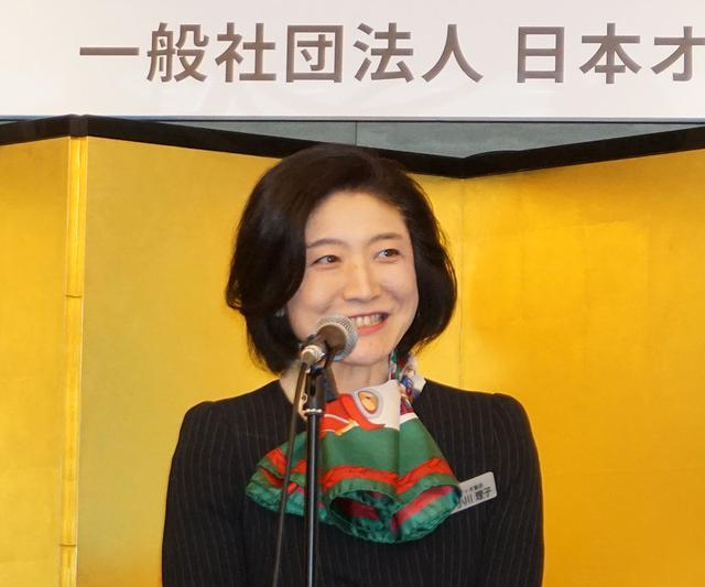 画像: オーディオ協会 会長の小川理子氏
