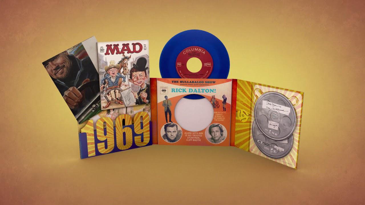 画像: Once Upon A Time In… Hollywood [Limited Vinyl Collector's Edition] www.youtube.com