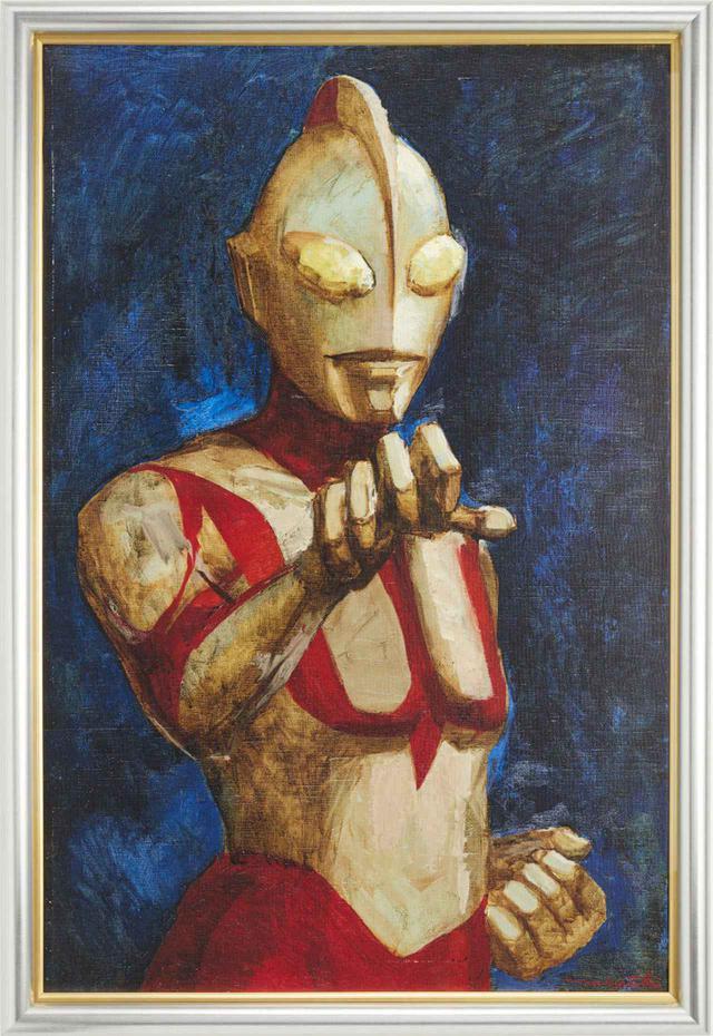 画像: 成田亨氏が1983年に描いた絵画『真実と正義と美の化身』