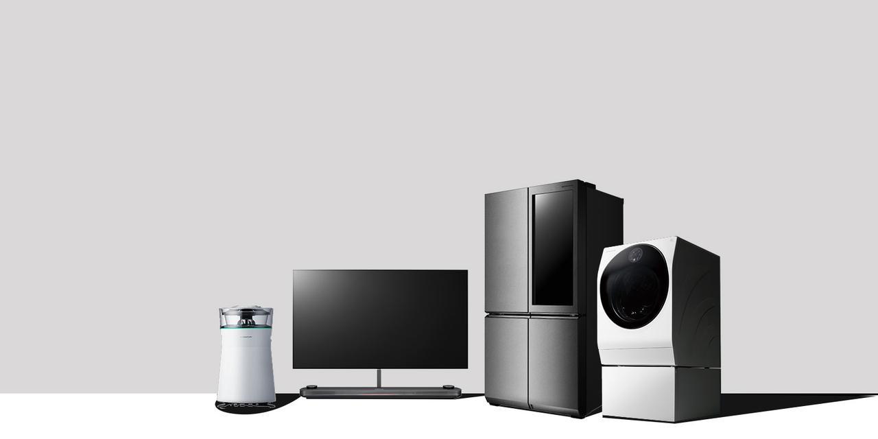 画像: LG SIGNATURE製品:プレミアムライン | LG エレクトロニクス・ジャパン