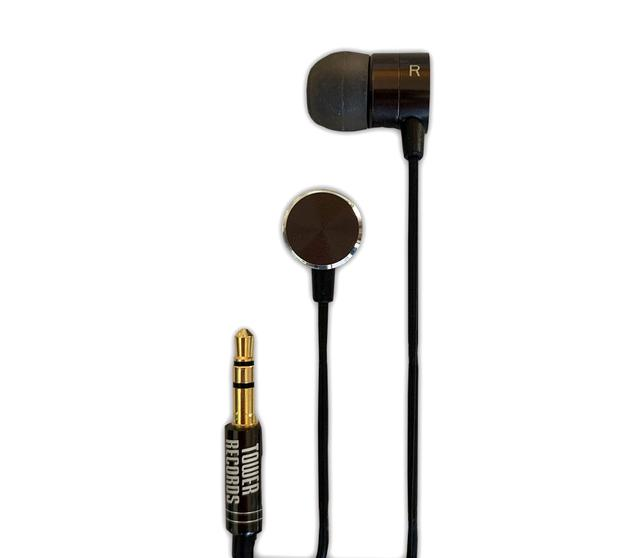 画像: ハイレゾイヤホン「TOWER RECORDS METAL SOUND Hi-RES EARPHONE」