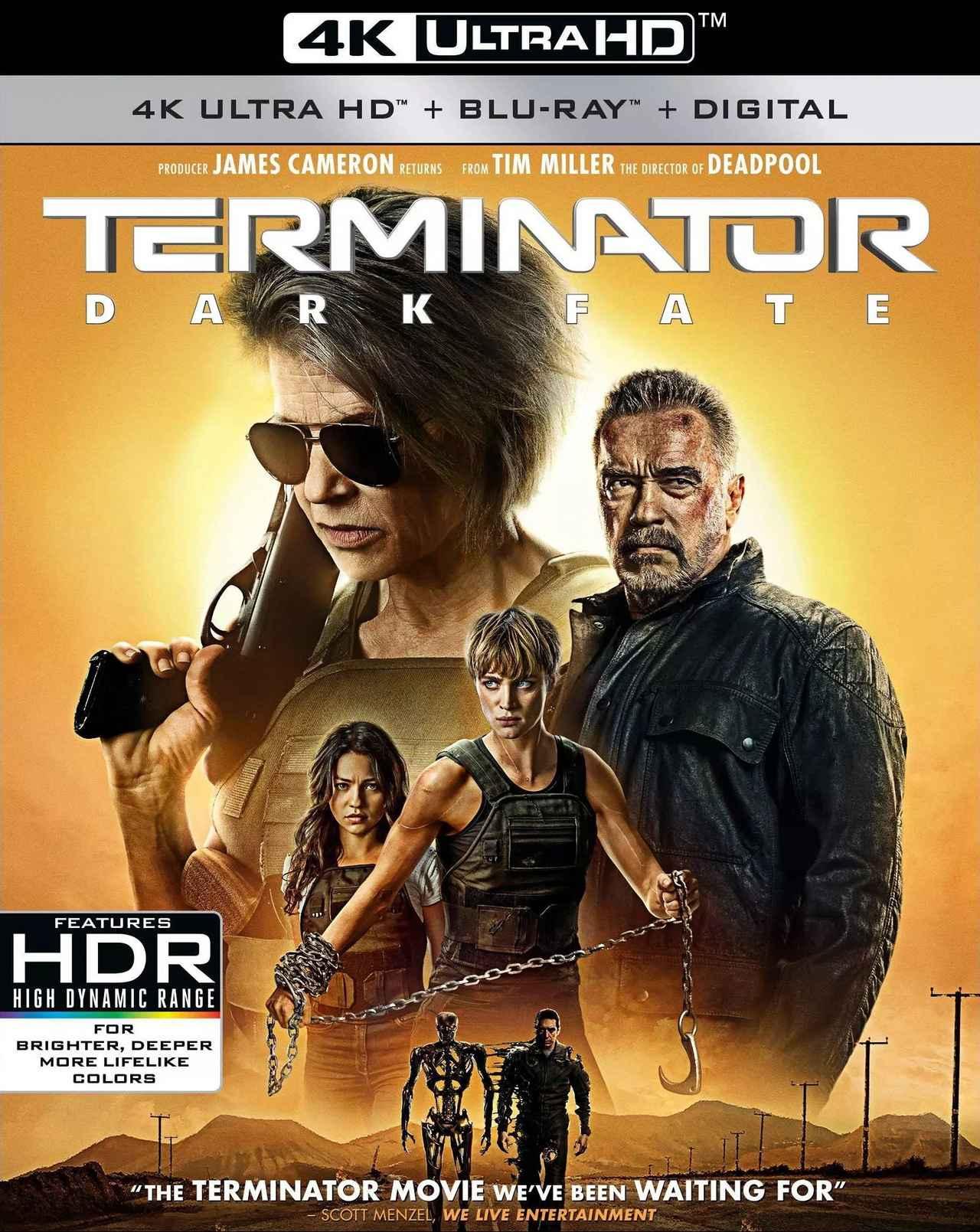 画像: 『T2』の正統な続編『ターミネーター:ニュー・フェイト』【海外盤Blu-ray発売情報】
