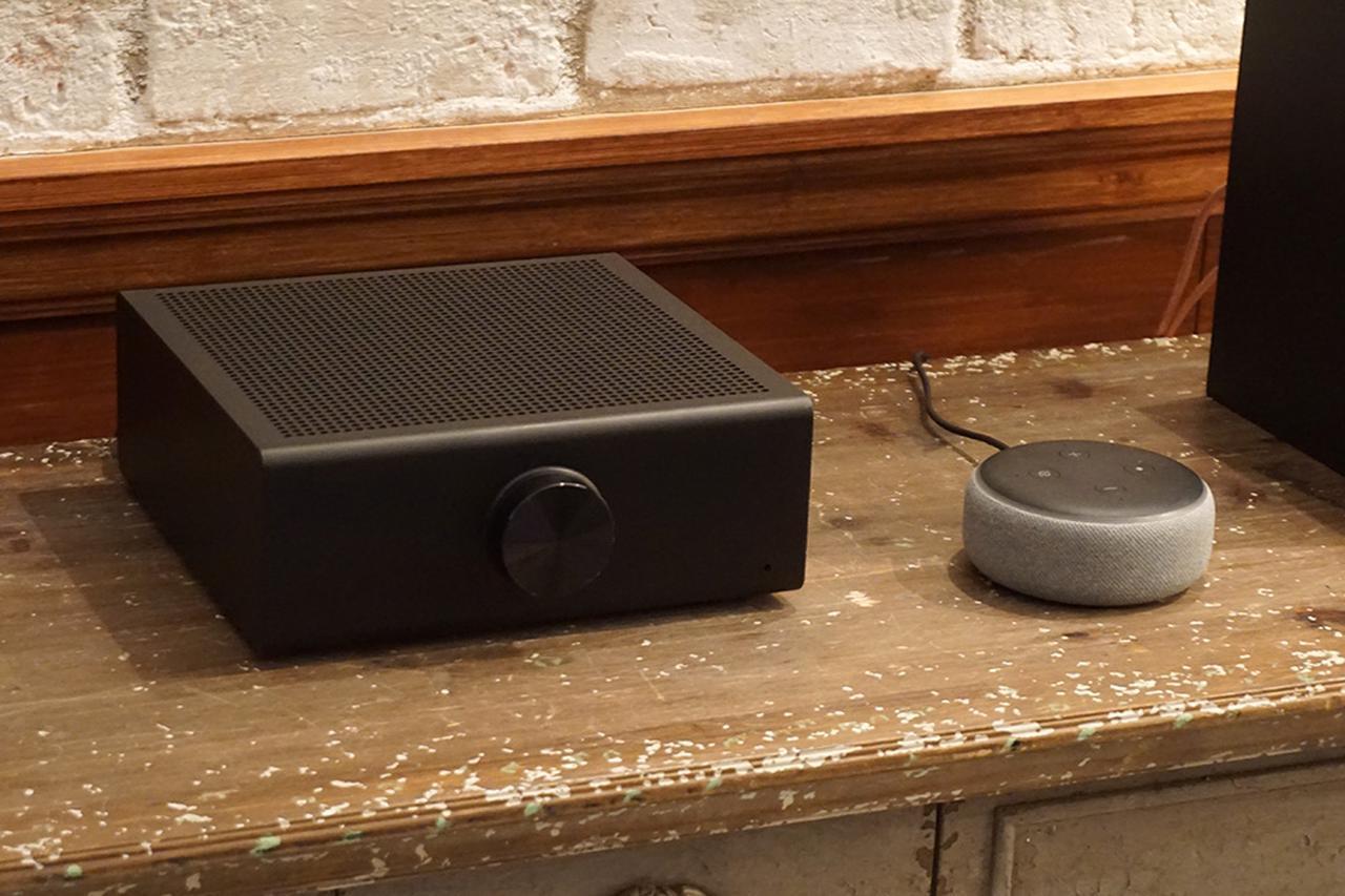 画像: 今年4月に発売された「Echo Link Amp」(写真)や「Echo Link」は既にハイレゾ再生に対応しており、Amazon Music HDの楽曲を高品位に楽しめるそうだ