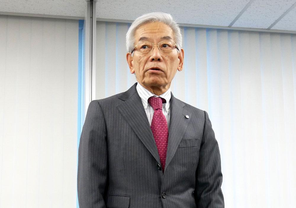 画像: A-PAB理事長 福田俊男氏