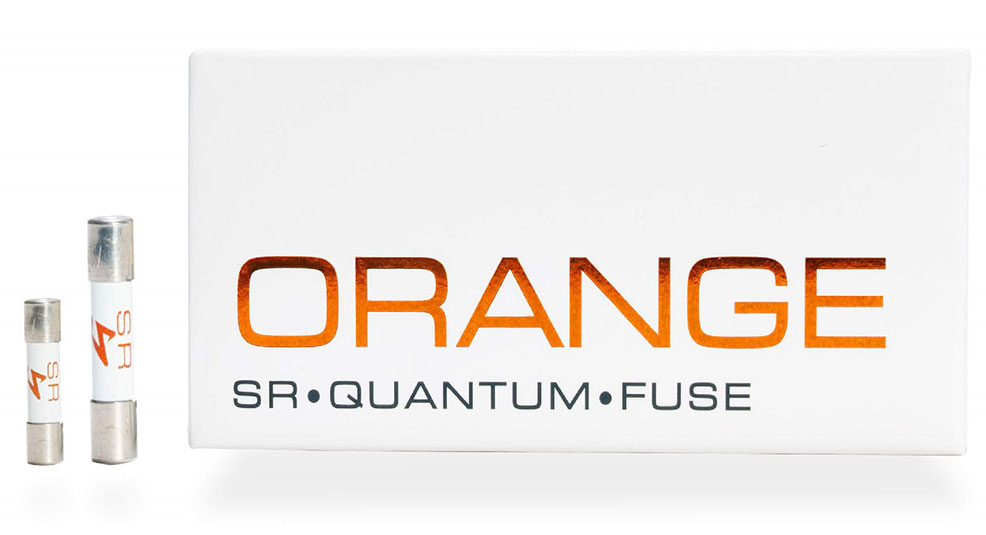 画像: Synergistic Research社のヒューズ「ORANGE Quantum Fuse」