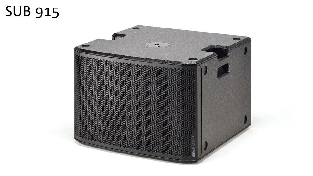 画像1: dBTechnologies、900Wのパワーアンプを搭載したサブウーファー「SUB 915」、「SUB 918」を12月下旬に発売。専用ソフトで遠隔操作・運用も可能