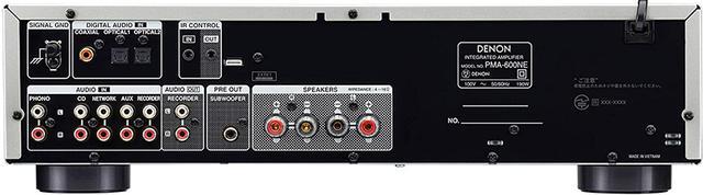 画像: ↑PMA-600NEはデジタル音声入力を装備し、最大192kHz/24ビットの入力が可能。また、Bluetoothにも対応する(コーデック対応はSBCとAAC)のもNE(New Era)らしい