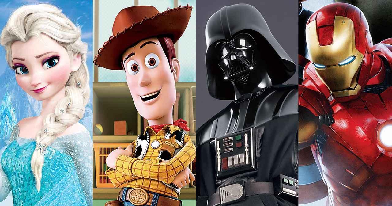 画像: 【公式】Disney DELUXE(ディズニーデラックス)  初回31日間無料