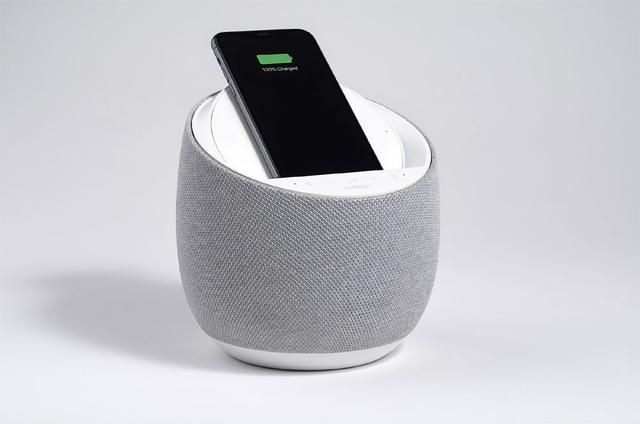画像2: Belkin、CES2020でワイヤレス充電機能付きスマートスピーカー「SOUNDFORM ELITE Hi-Fi Smart Speaker + Wireless Charger」を発表