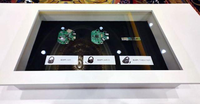 画像: 現行、Super X-Fi対応ワイヤレスヘッドホンに搭載されているSuper X-Fiチップ(基板)
