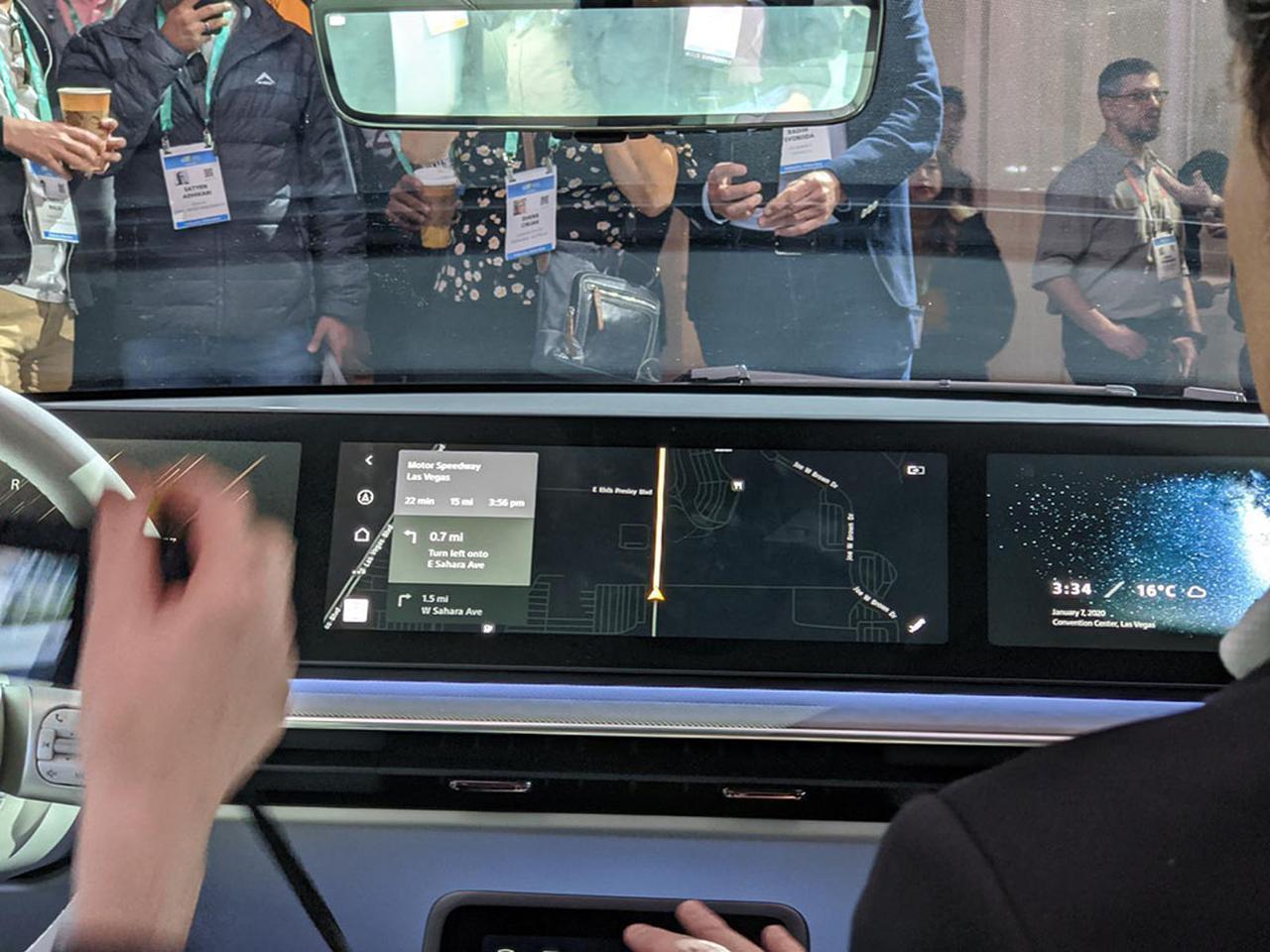 画像5: 【麻倉怜士のCES2020レポート02】これが超話題のソニーのニューカー「VISION-S(ビジョン エス)」だ。その、ディテイルをご覧にいれます