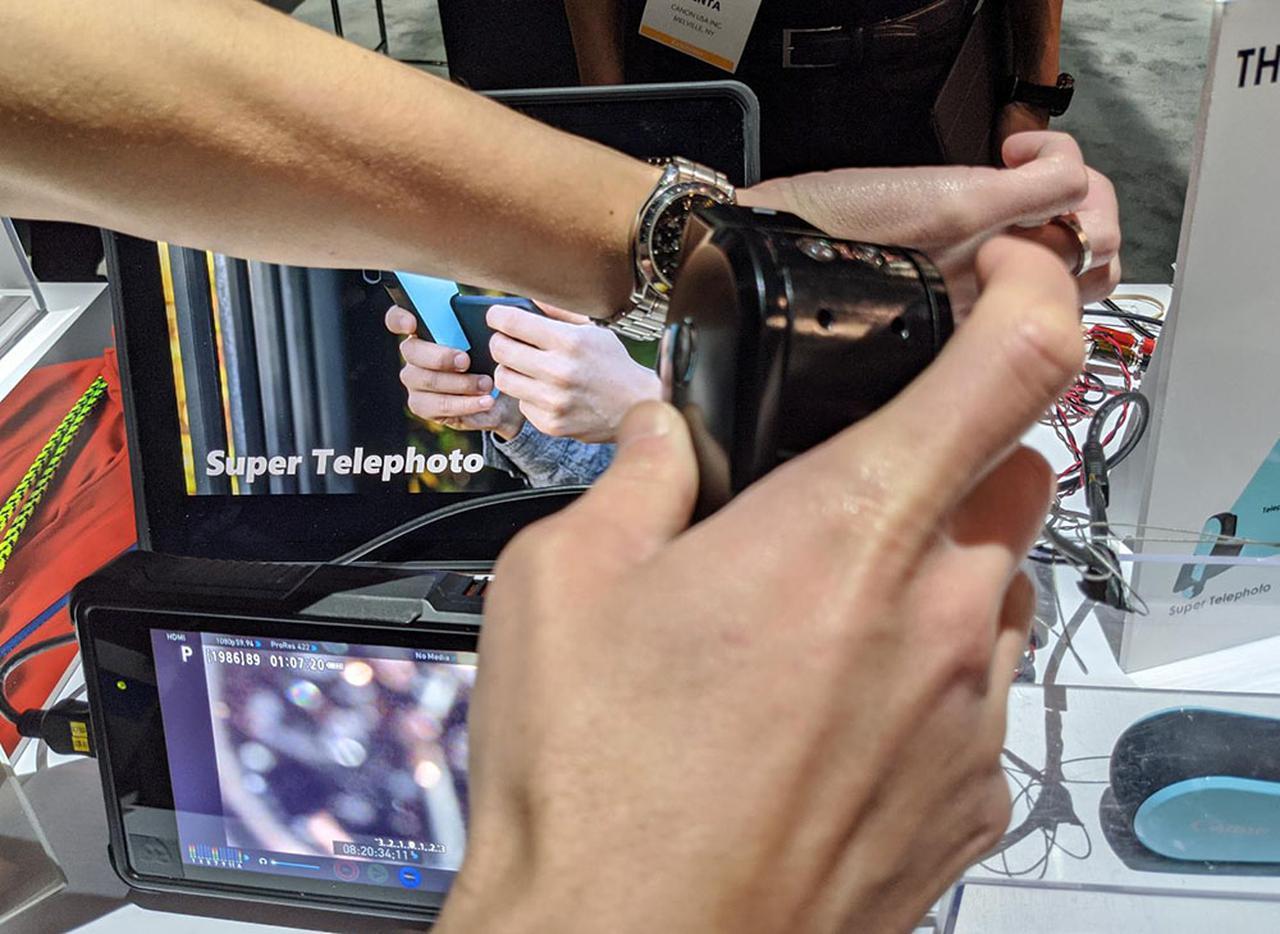 画像6: 【麻倉怜士のCES2020レポート04】キヤノンの「ニューコンセプトカメラ」が超面白い。斬新なアイデアを採り入れることで、ワン・アンド・オンリーの魅力を提案