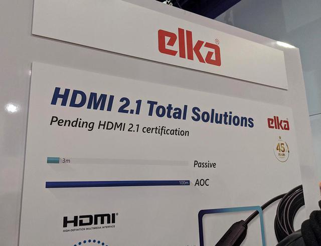 画像: 台湾のELKA INTERNATIONALのHDMI2.対応1ケーブル
