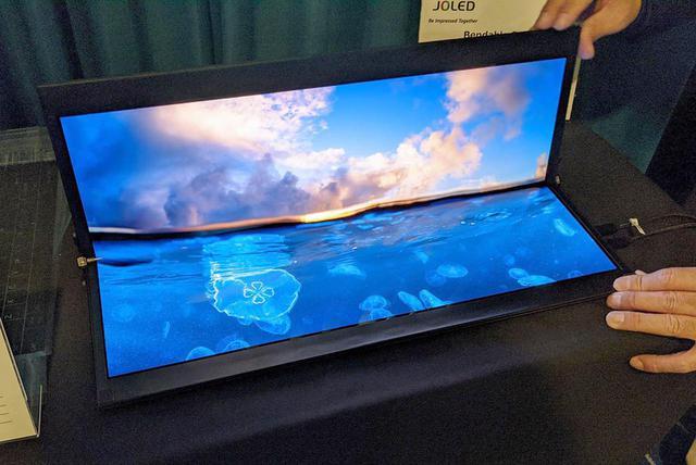 画像1: 【麻倉怜士のCES2020レポート06】JOLED、新型印刷・RGB有機ELパネルを発表。32型4K有機ELテレビに大いに期待