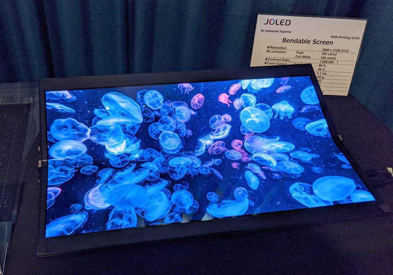 画像2: 【麻倉怜士のCES2020レポート06】JOLED、新型印刷・RGB有機ELパネルを発表。32型4K有機ELテレビに大いに期待