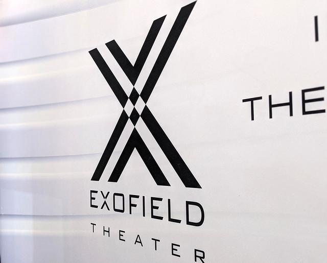 画像: JVCケンウッドブースにもうけられた、EXOFIELD THATERコーナー