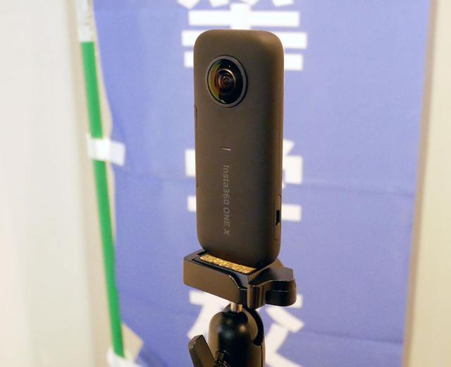 画像: 360度映像の撮影に使ったカメラ