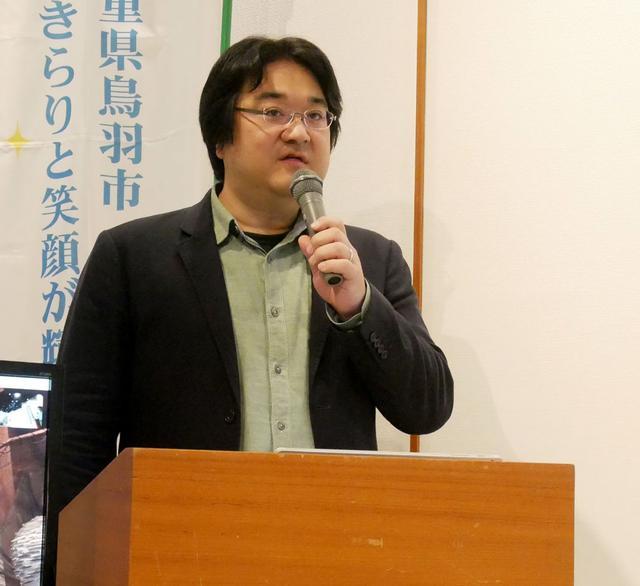 画像: アルファコード CEO 水野氏