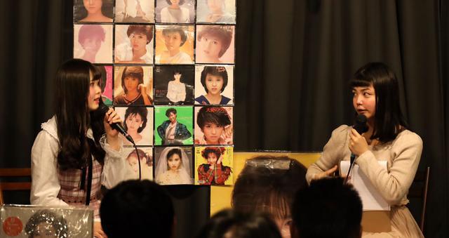 画像: 二部ゲストの川上きららさん(左)