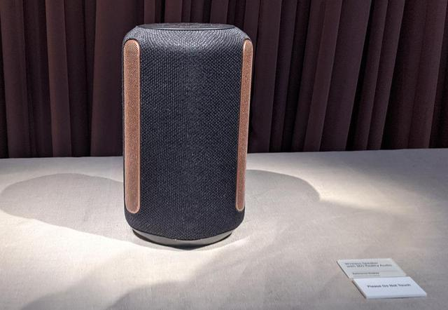 画像: 360 Reality Audio対応のスピーカーシステム