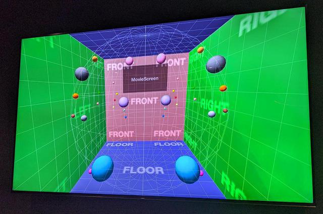 画像: 360 Reality Audioの音場の拡がり
