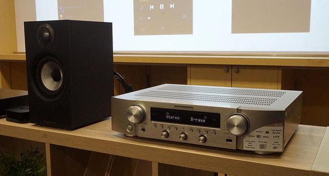 """画像: マランツから""""新しいカテゴリー""""の注目モデル「NR1200」が登場。HDMI端子を備え、様々なネットコンテンツも楽しめる、2chハイファイアンプ - Stereo Sound ONLINE"""