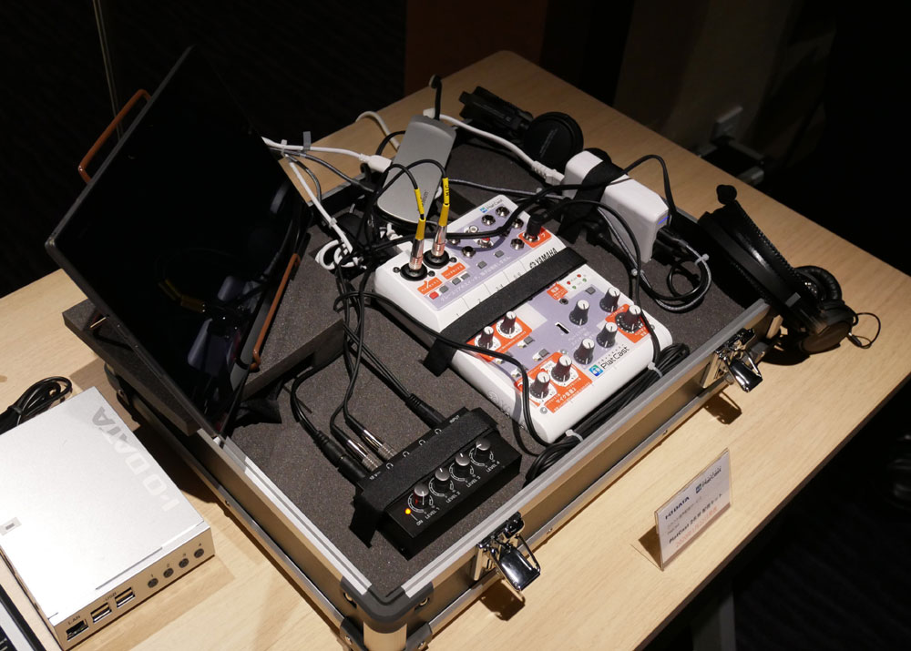 画像: PlatCastの基本キット。専用ケースに入って送られてくる