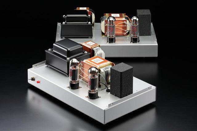 画像: 「マイ・ハンディクラフト」では是枝重治氏によるKT150プッシュプル・ステレオパワーアンプ(上)、新 忠篤によるルンダール製トランス搭載 EL34単段プッシュプル・モノーラルパワーアンプ(下)の2モデルが登場です。大パワー管KT150で美音を聴かせる是枝氏アンプはステレオサウンドストアで実機を頒布します。新のアンプは定評のあるスウェーデン・ルンダール製トランスの特徴である「透過性」を的確に示す音を持ちます。