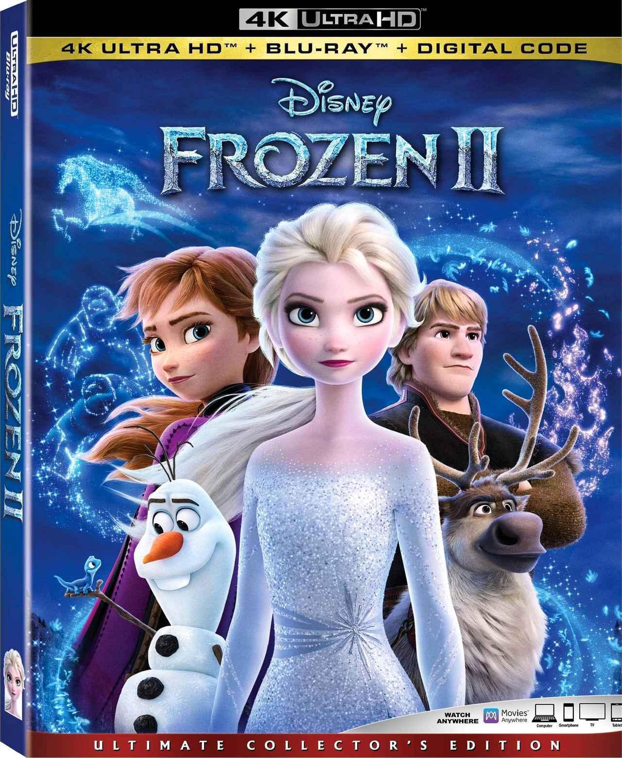 画像: ディズニー・メガヒット・アニメの続編『アナと雪の女王2』【海外盤Blu-ray発売情報】