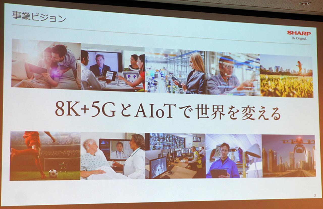 画像: 【CEATEC2019レポート】シャープがAIoTプラットフォームの展開を発表。「8K+5GとAIoTで世界を変える」 - Stereo Sound ONLINE