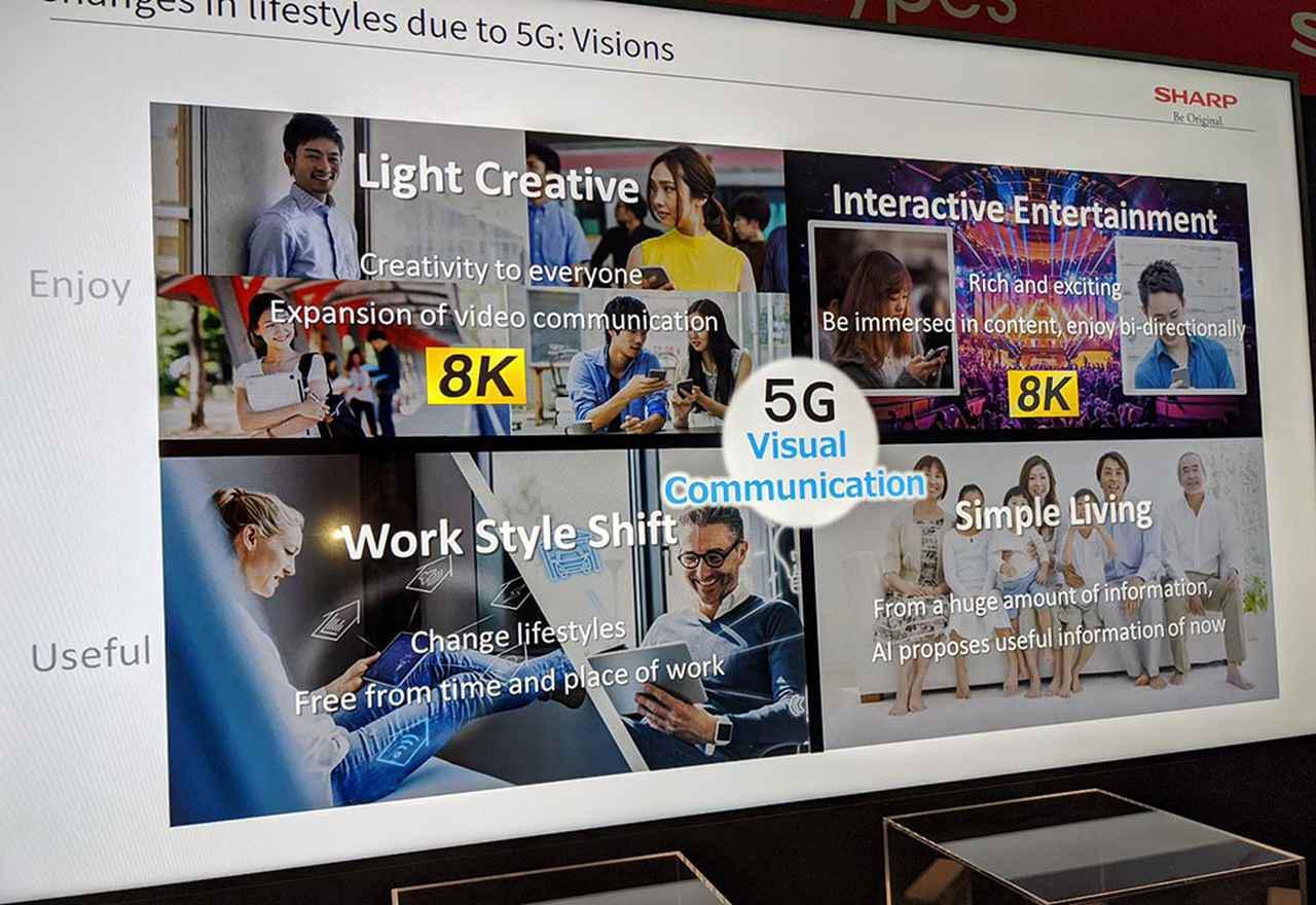 画像4: 【麻倉怜士のCES2020レポート17】「8K」や「AIoT」への取り組みを進めるシャープ。その詳細を、取締役 副社長執行役員 ICTグループ長の石田佳久さんが語る