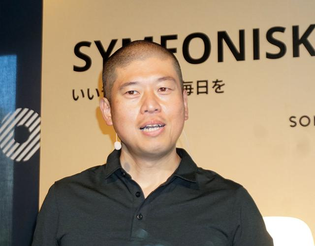 画像: SONOS Japan Country General Managerの瀬戸和信さん