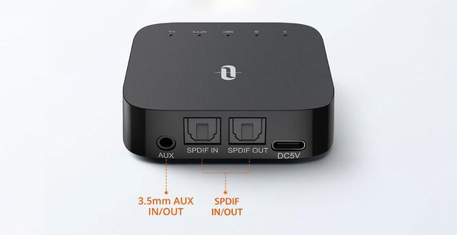 画像1: TaoTronincs、aptX LL対応で、ワイヤレスヘッドホンを2台同時に接続できるBluetoothトランスミッター/レシーバー「TT-BA09 Pro」を1月31日に発売