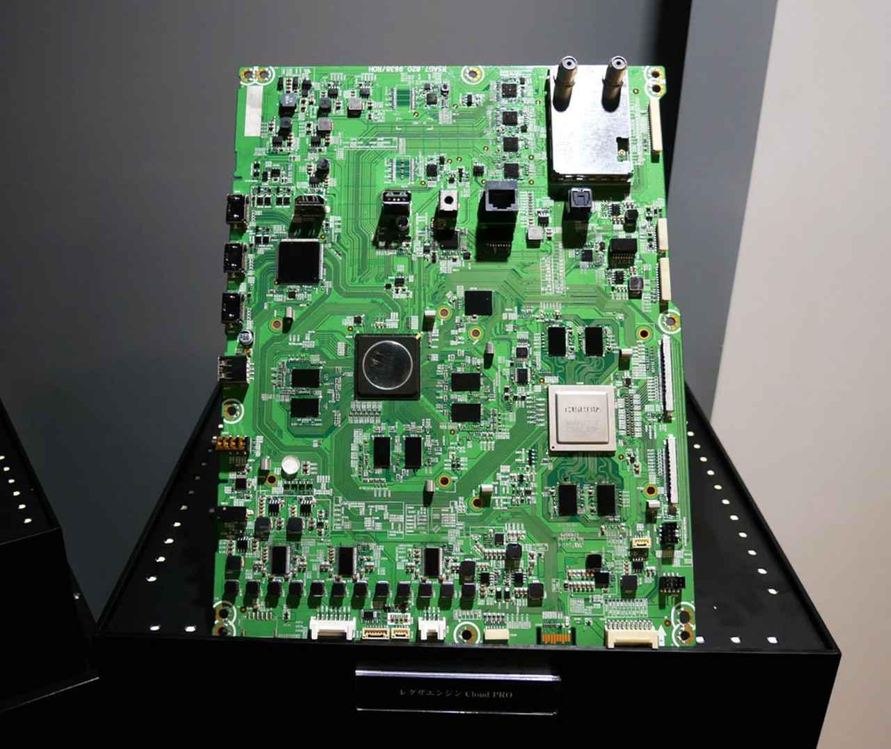 画像: 「Z740X」シリーズに搭載される「レグザエンジンCloud PRO」